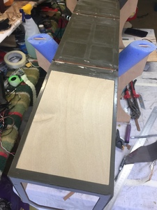 fabricando tapa del cubre carter