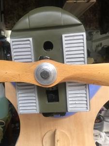 acoplando el motor a la carena 1