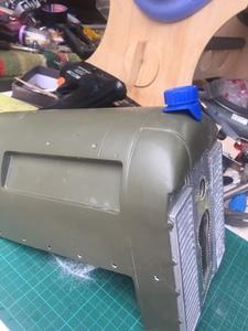 el tapón de radiador